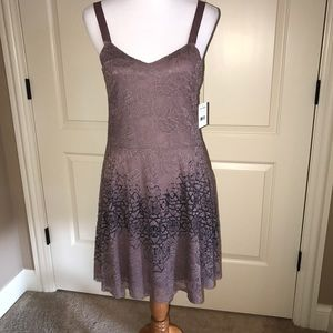 FREE PEOPLE LACE OVERLAY OMBRÉ DRESS - NWT