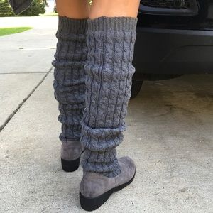 35254f8ebd0d boutique Shoes | Over The Knee Ribbed Knit Suede Bottom | Poshmark