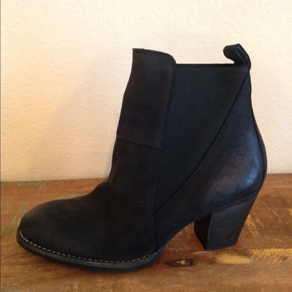 d0a8c8cdb Paul Green Shoes | Jules Ankle Boots New Black Us Sz 6 | Poshmark