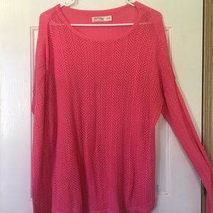 Pink/Coral Sweater