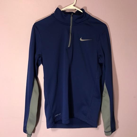 d5c676f10b17 Nike Quarter Zip Running Jacket. M 59b8c35ac28456080b02d4a1
