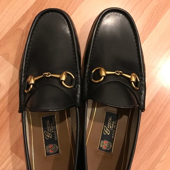 dd398d9ab2d Gucci Other - Gucci Betis Glamour black size 7 horsebit loafer