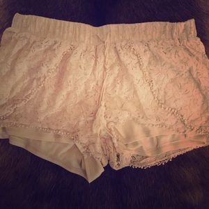 Vanilla Star Brand lace shorts