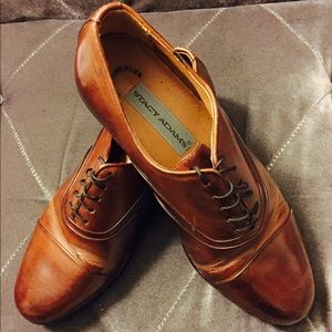 Men's Stacy Adams Leather Brown Shoes
