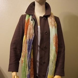 Brown Weave Coat