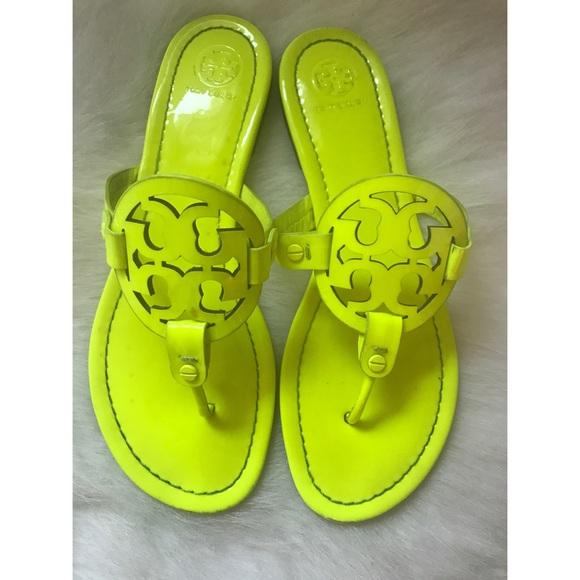 2affe6310 Tory Burch Neon Miller Sandals. M 59b91202bcd4a77bb8033ab1