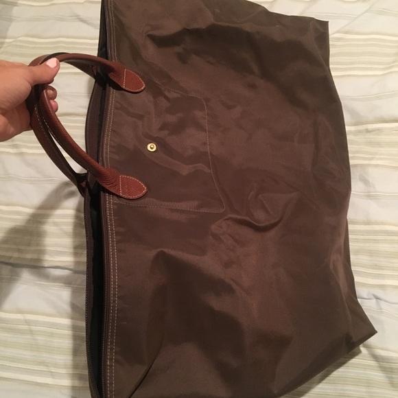 Longchamp Bags   Xlarge Duffel Bag Khaki   Poshmark 167780f050