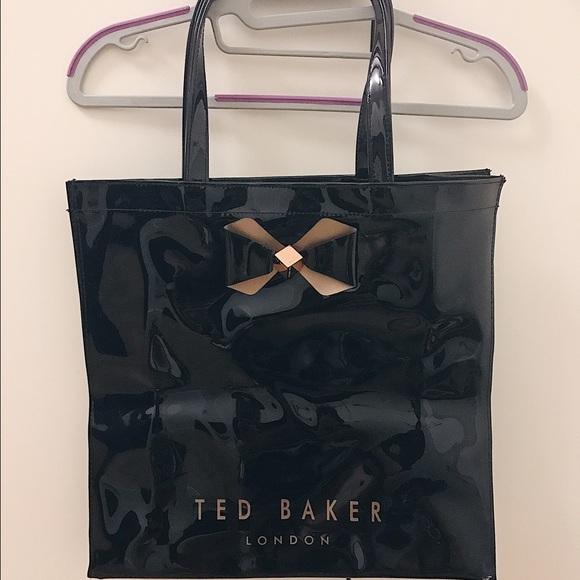 c71cf88b3dd34 Ted Baker BETHCON bow detailed large shopper bag. M 59b91972c6c795d38a03304d