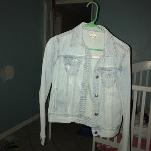 Mudd blue jean jacket