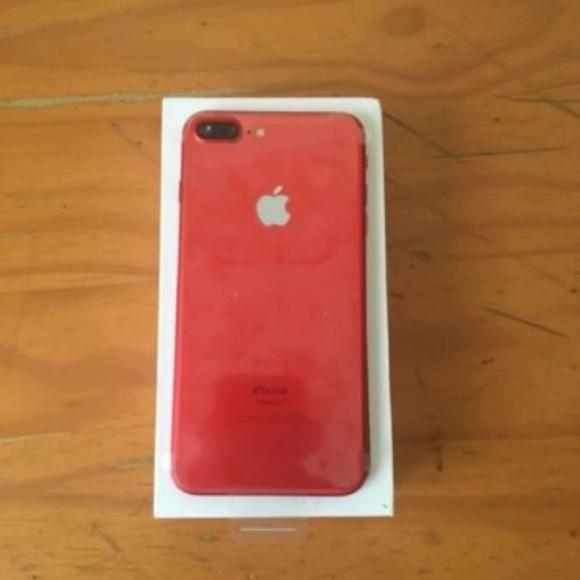 apple red iphone 7 plus case