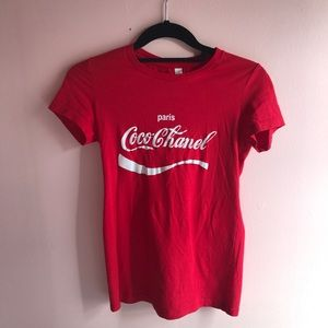 Tops - Paris Coco Chanel Tee