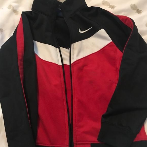 Nike Jackets & Blazers - Nike track jacket boys 6