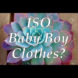 Other - Are you ISO Baby Boy or Toddler Boy Clothes?
