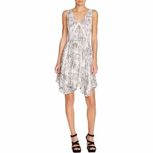 NWT Greylin black & white Aline sleeveless dress-M