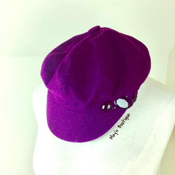 Accessories - ⭐️Elegant Dark Purple Vintage Hat⭐️ 03114132eb34