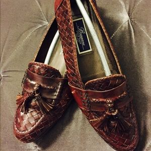 Men's Cole Haan Maroon Leather Shoes