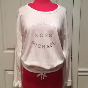 "RARE, NWT ""MICHAEL KORS"" LONG SLEEVE TOP"