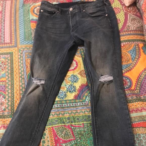 Men Pacsun skinny ripped distressed jeans. M 59b93ea47fab3abb2d039aae bdaeeada81da