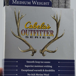 Cabela's Underwear & Socks - Cabela's Outfitter Series Medium Weight Socks Sz L