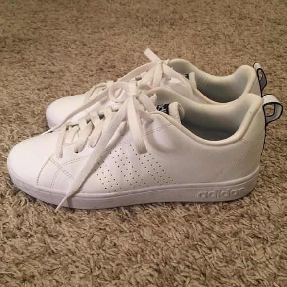 Zapatillas Talla adidas neo zapatillas blancas Talla Zapatillas 8 poshmark aed98d