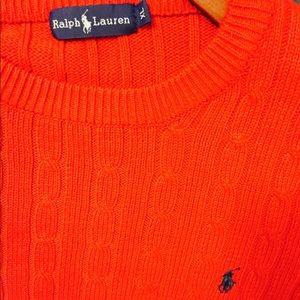 Men's Polo Ralph Lauren Red Sweater