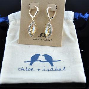 Chloe + Isabel Jolie Crystal Drop Earrings
