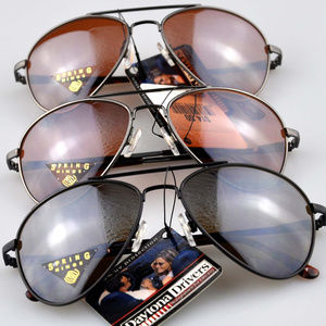 Lot of 3 Daytona Drivers Aviator Sunglasses