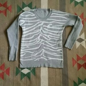 Hot Topic Ribcage Crew Neck Sweater