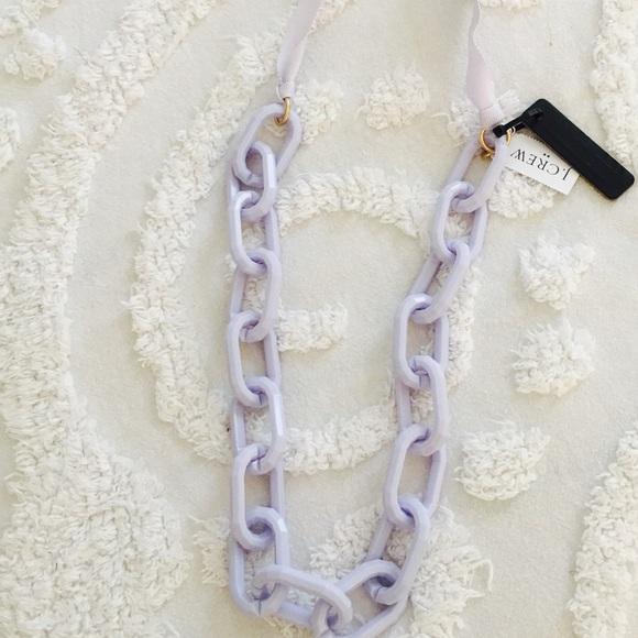 J. Crew Jewelry - J.Crew Chain Link Tie Bow Necklace