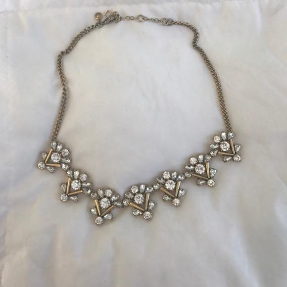 J. Crew Jewelry - Beautiful rhinestone statement necklace
