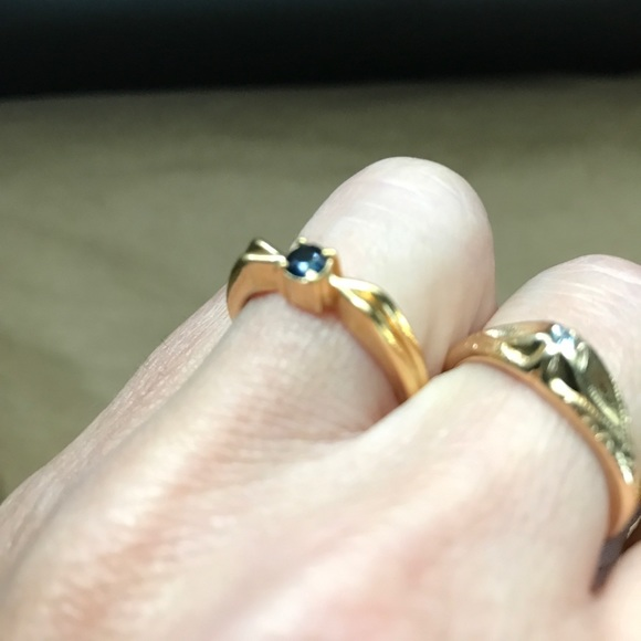 Vintage Jewelry - high quality vintage costume ring lot
