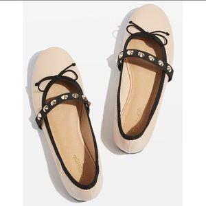 VEIL Studded Ballet Shoes Sz 7.5