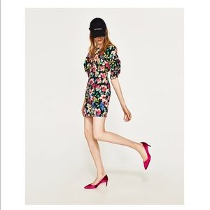 ZARA- Floral dress- new with tags 🌸🌸💃