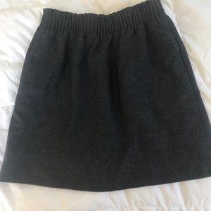 J. Crew Factory wool mini skirt