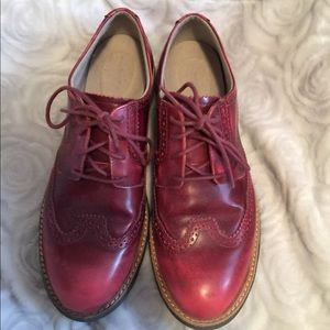 Red Rockport AdiPrene by Adidas Oxford Wingtip 8.5