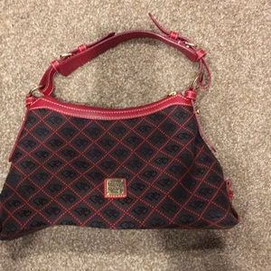 Red & Grey purse was a gift used twice