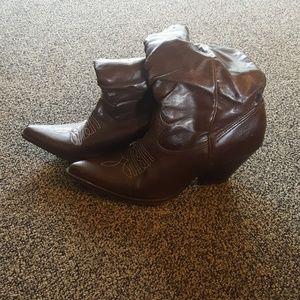 Shoes - Fashion cowboy booties