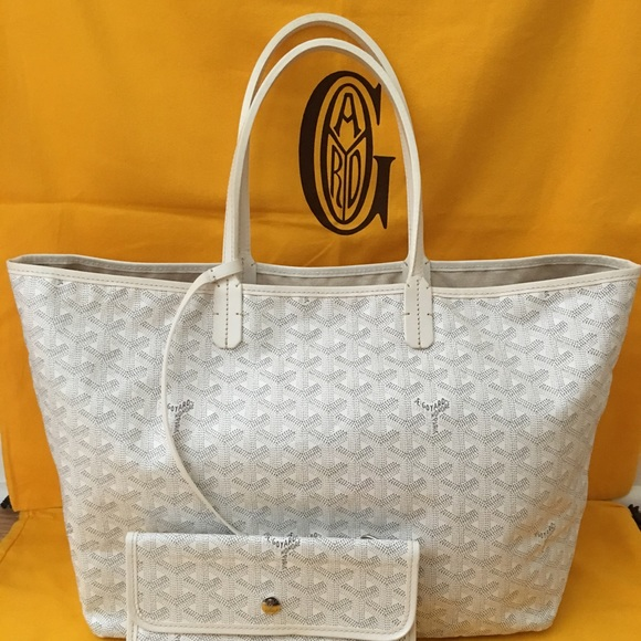 Goyard Handbags - Goyard White St. Louis PM
