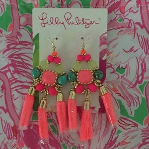 NWT bright Lilly Earrings