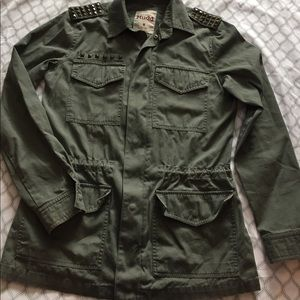 Mudd Military-style jacket