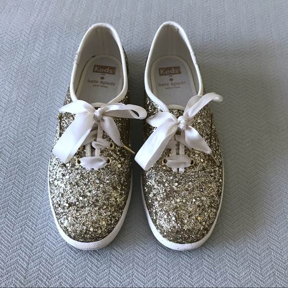 f4bb2bfc4a49 kate spade Shoes | Keds For Platinum Glitter Sneakers | Poshmark