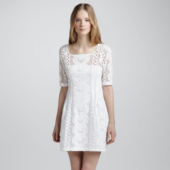 Nanette Lepore Dresses & Skirts - Nanette Lepore Sandy White Dress