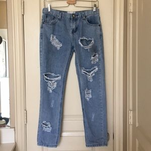 ✨MARKED DOWN✨One teaspoon distressed jeans