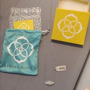 Kendra Scott Adjustable Iridescent necklace