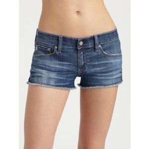 ✨MARKED DOWN!! ✨AG daisy low rise denim shorts