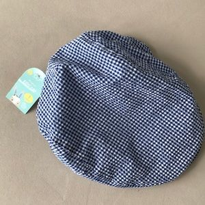 Other - NWT Boy's Gingham Newsboy Hat