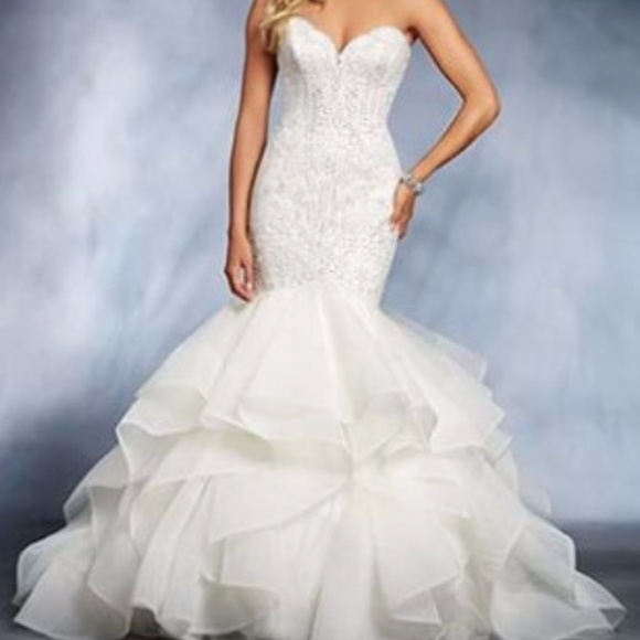 Alfred Angelo Dresses | Style 264 Disneys Ariel Bridal Gown | Poshmark