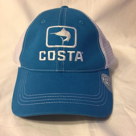 a802aea151f80 ... cheapest costa del mar blue white marlin trucker hat xl 73989 dc331