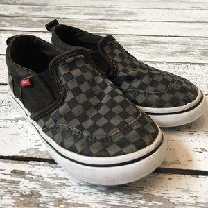 Checkerboard Vans Toddler Size 10