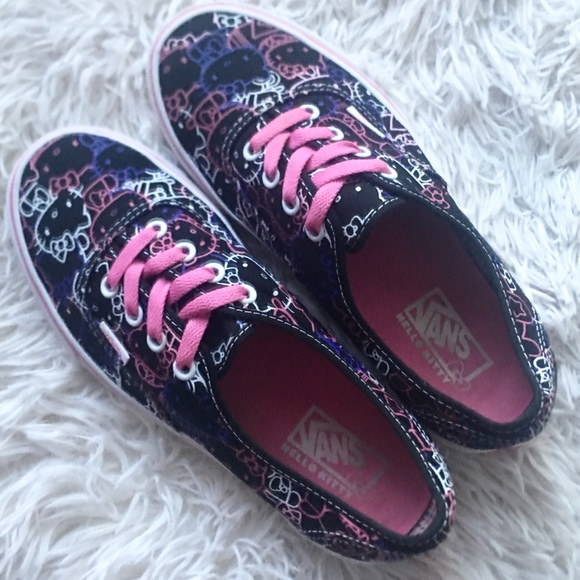 d4700547bc Vans Shoes - Hello Kitty Vans Passion Flower Pink Shoes